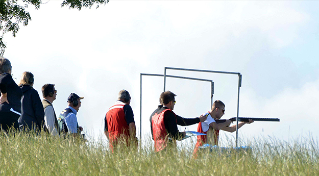 Sporting clay 6